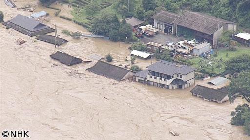 """サイエンスZERO「豪雨激甚化時代の新たな脅威 """"津波洪水""""に迫れ!」[解][字]"""
