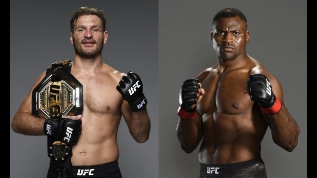 UFC260 in ラスベガス ヘビー級タイトルマッチ ミオシッチvsガヌー